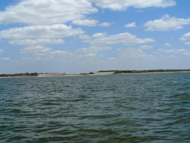 Campo el Mirador Sugar Lake Marte R. Gomez, bass lobina