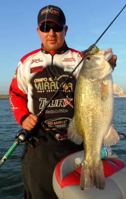 Campo el Mirador lobina bass Sugar Lake Presa Marte R. Gomez