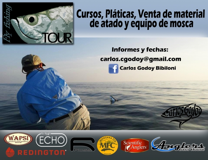 Fly Fishing Tour Carlos Godoy Anglers bass House Redington Ross Echo Sage