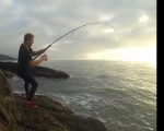 Morning Tide Fishing, Surf Fishing al Extremo VIDEO