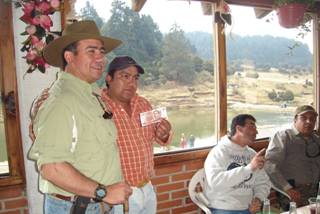 Convivencia truchera en Entre Valles, Estado de Mexico