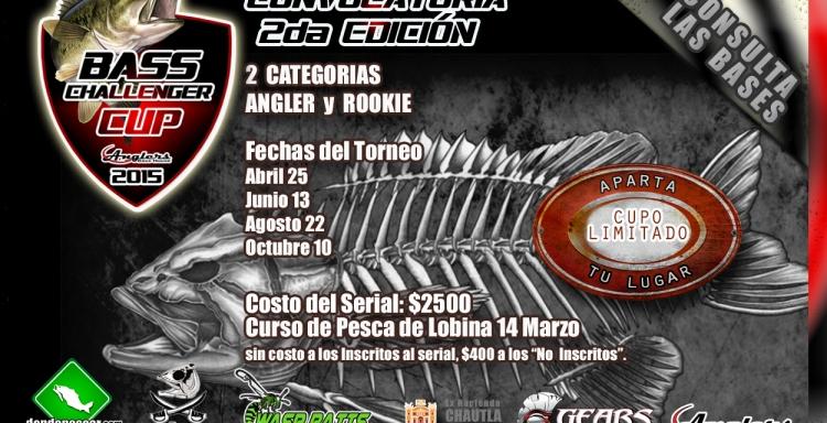 Serial BASS Challenger CUP 2015, Ex Hacienda de Chautla Puebla