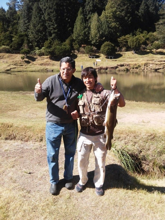 Julian de la Paza Entre Valles trucha fly fishing