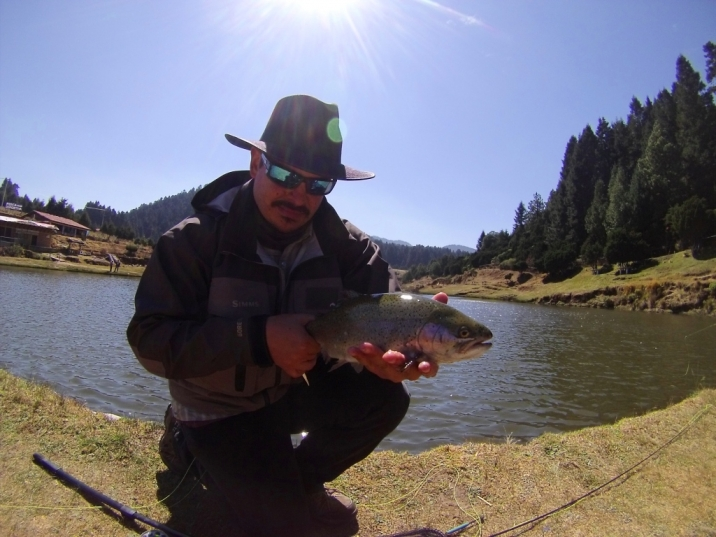 Fly Fishing Entre Valles donde Pescar dondepescar trucha