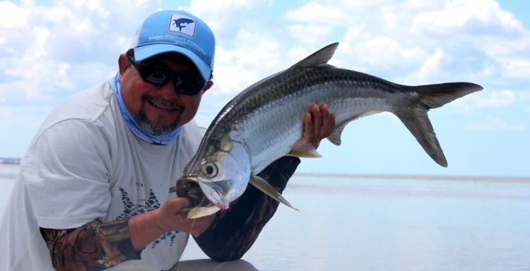 FlyFishing Sabalos en Campeche con Mangrove King Fishing Lodge