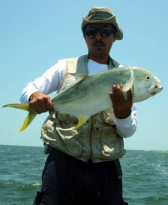Reporte de pesca desde Campeche
