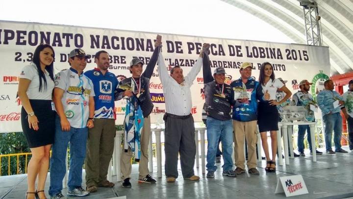 campeonato nacional lobina 2015 cesar madrigal Eduardo Marcos