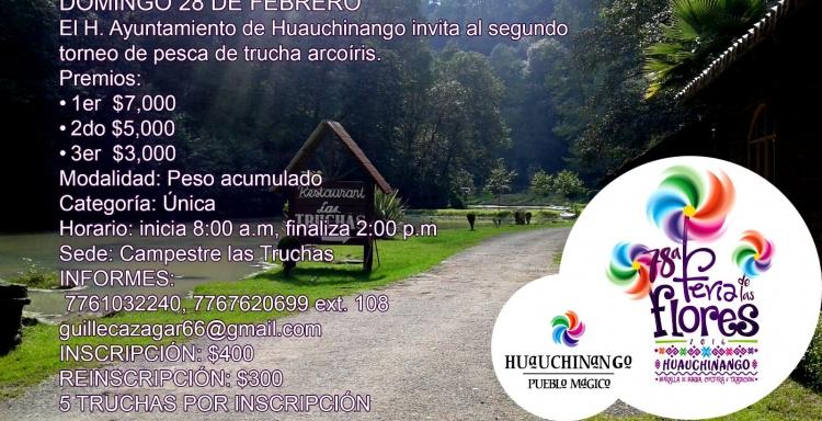 Torneo de Trucha Campestre las Truchas, Feria de las Flores 2015, 28 Febrero.