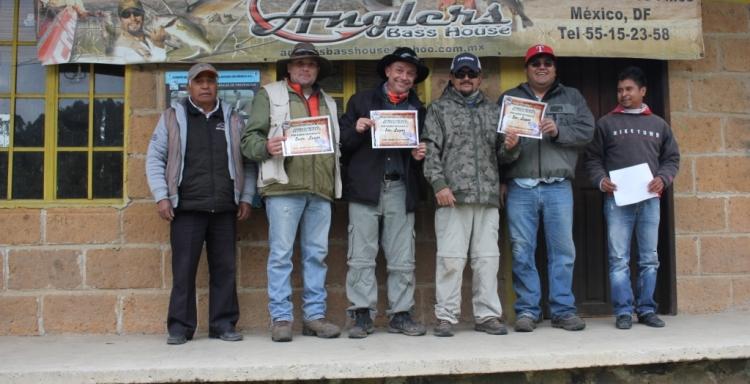 Resultados Torneo Fly Fishing Entre Valles, abril 23, 2016.
