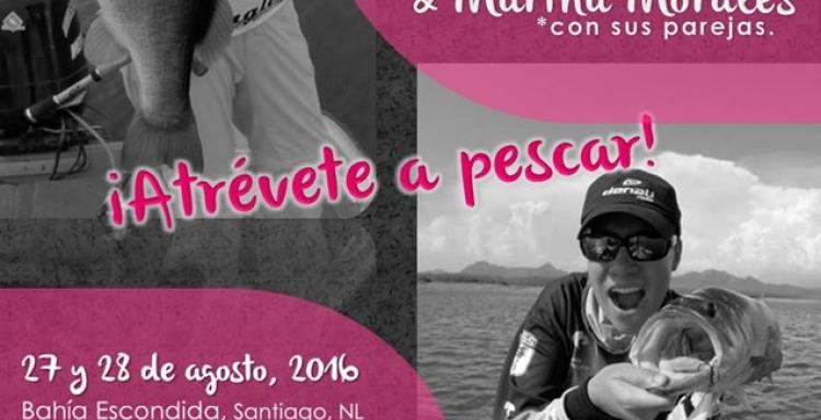 Agosto 27 y 28 Clinica de Pesca con Yaisa Corrales y Martha Morales, Presa La Boca