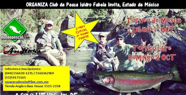 Torneo de Trucha Río de las Palomas de Fly Fishing y Abierto