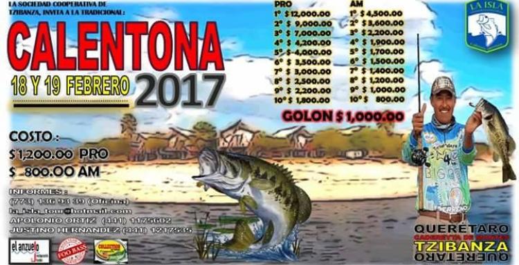 CALENTONA ZIMAPAN - TZIBANZA 2017, FEBRERO 18-19