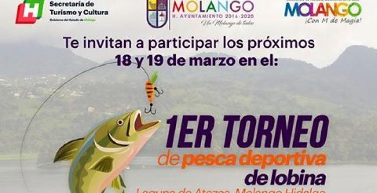 Torneo de LOBINA, Laguna ATEZCA, de Orilla y Embarcación, Molango, Hidalgo