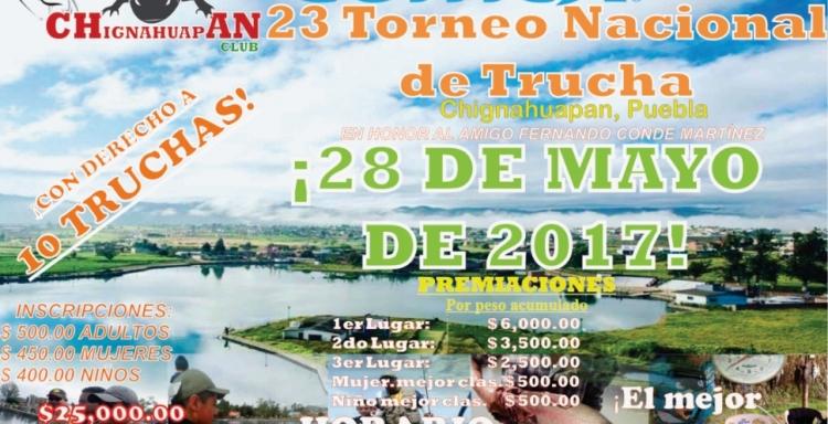 23° Torneo de Pesca Nacional de Trucha Arcoiris,Chignahuapan, Puebla