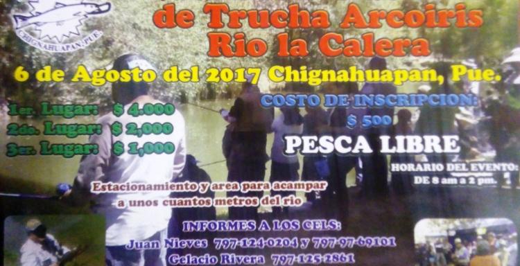 2° Torneo de Trucha Arcoiris Río