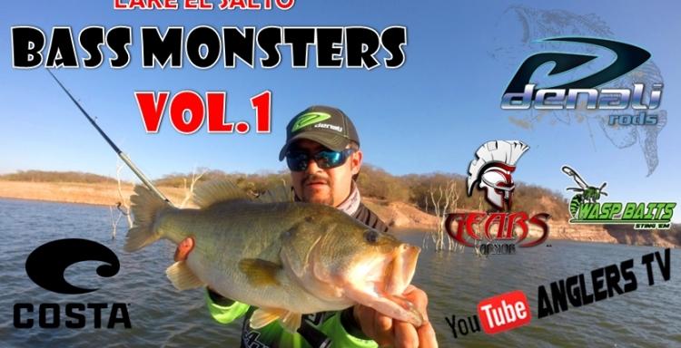 Anglers Tv Lake El Salto, BASS MONSTERS, Vol.1