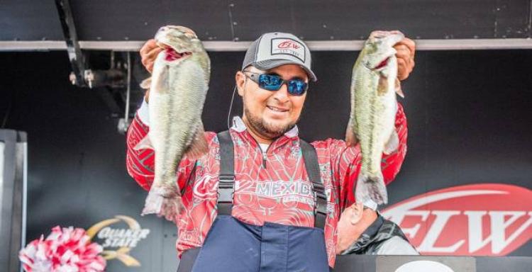 FLW Costa Series 2017, Kentucky Lake, Tony Soto Co-Angler México