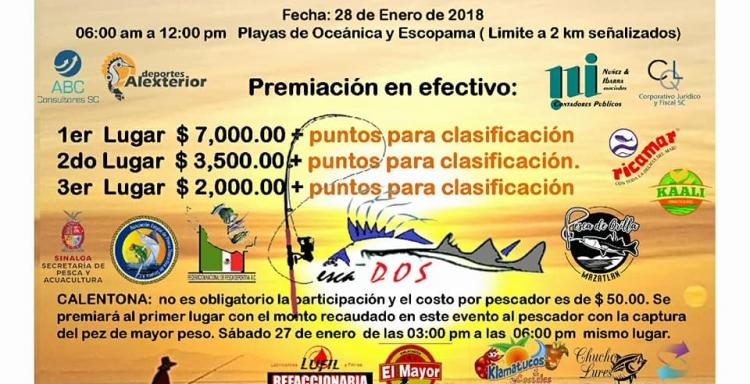 1ER TORNEO ESTATAL Y SERIAL DE ORILLA DE PLAYA EN AGUA SALADA