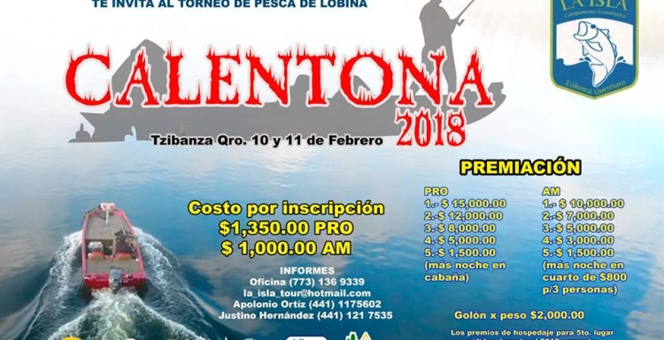CALENTONA 2018, PRESA ZIMAPAN, TZIBANZA, 10-11 FEBRERO