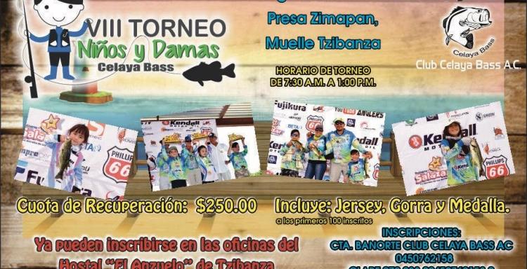 VIII Torneo de Niños y Damas del Club Celaya Bass A.C.