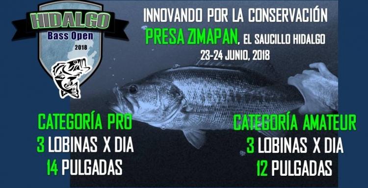 HIDALGO BASS OPEN, Torneo Abierto Presa Zimapan