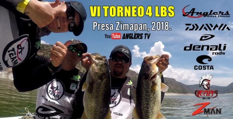 Anglers TV, VI TORNEO 4 LIBRAS 2018, Presa Zimapán.