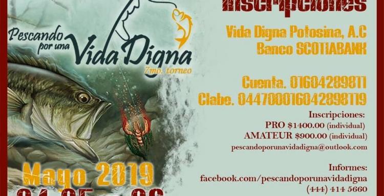 24-26 de Mayo Gran Torneo Pescando por una Vida Digna, Zimapán