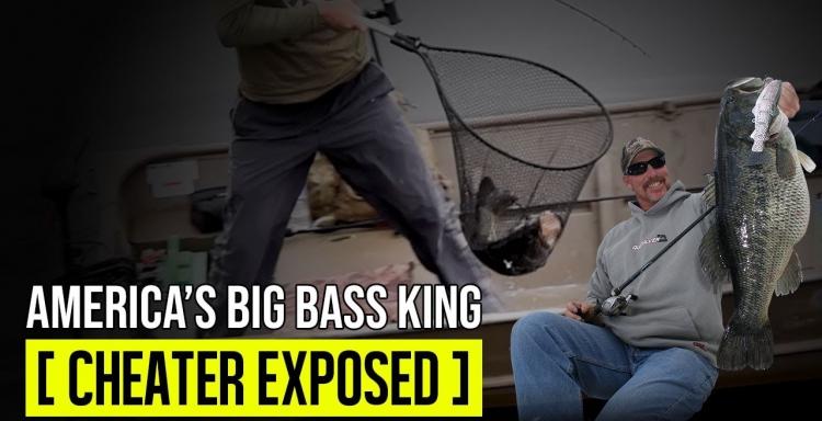 Que fraude y decepción en la pesca de GRANDES LOBINAS, Mike Long