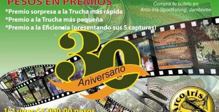 XXX Torneo de Aniversario CLUB PUEBLA AC, 27 de Octubre 2019