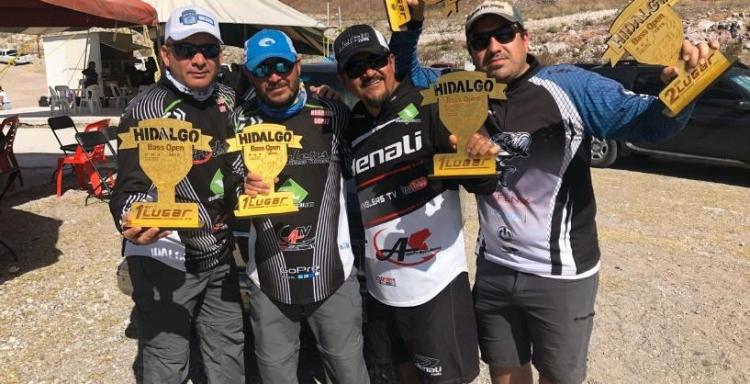 Resultados Torneo Hidalgo Bass Open 2019, en El Saucillo, Zimapán, Hidalgo