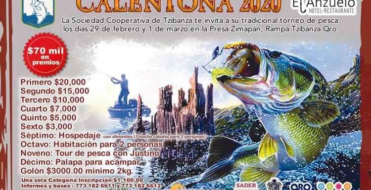 CALENTONA 2020, TZIBANZA, Presa Zimapán