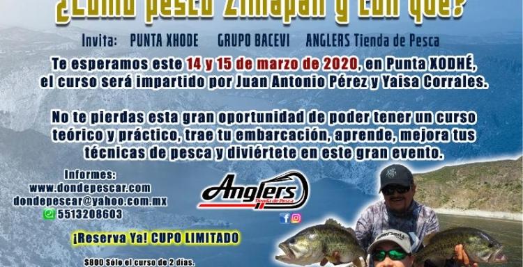 Curso de Pesca, ¿Cómo pesco Zimapán y con qué?
