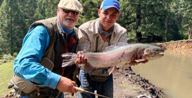 Pesca Deportiva de Trucha, LAS PALOMAS, Estado de México