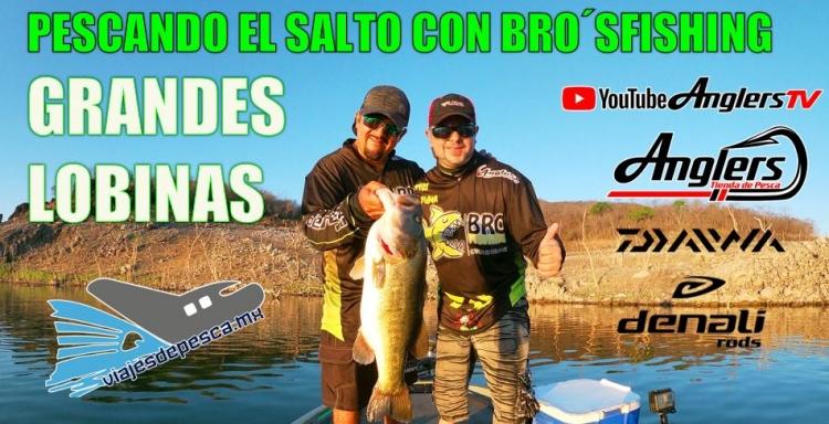 PESCA DE GRANDES LOBINAS El Salto Bros Fishing