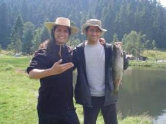 Pesca en la Cienega, Octubre del 2007