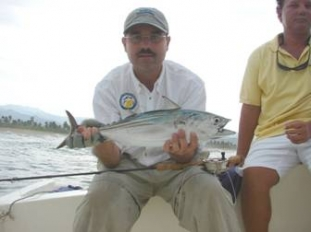 Pescando con Mosca en Zihuatanejo