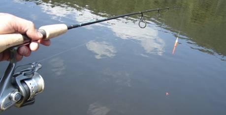 La pesca con equipo Spinning
