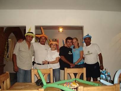 Festejo y practica en Zimapan 9 y10 Junio 2007