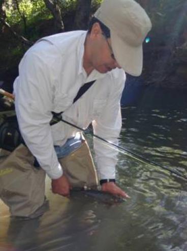 La pesca con Ninfas