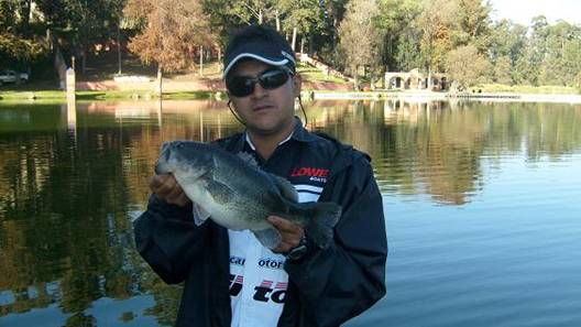 Mi primer trofeo de pesca