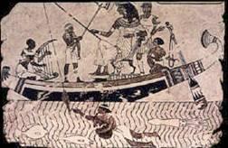 Sabias que Cleopatra era pescadora