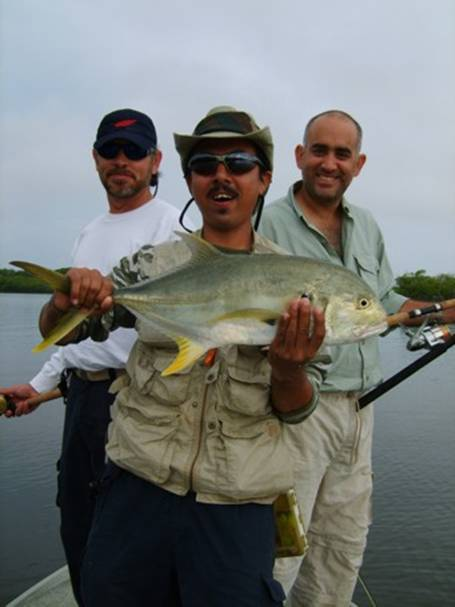 Buen dia de pesca en el Rio Champoton, Campeche