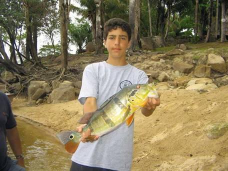 Pesca de Payaras y Pavones