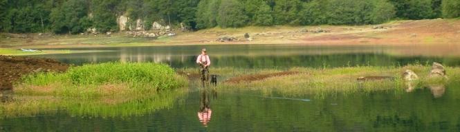 Pescando truchas silvestres Yaisa Corrales