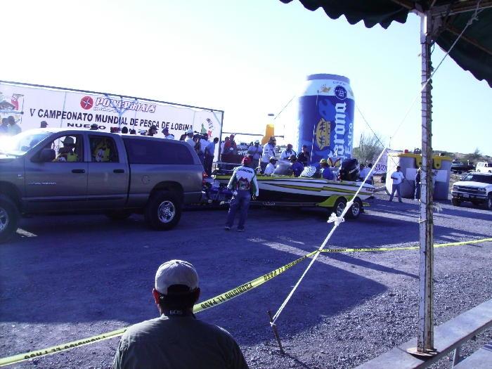 Campeonato mundial de lobina 2009 El Cuchillo Nuevo León