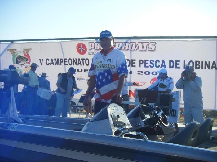 Campeonato mundial de lobina 2009, El Cuchillo Nuevo León Yamamoto