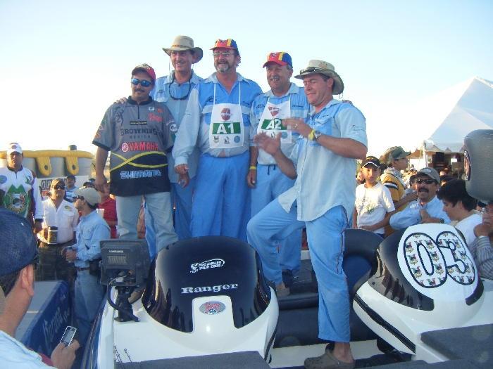 Campeonato mundial de lobina 2009, El Cuchillo Nuevo León