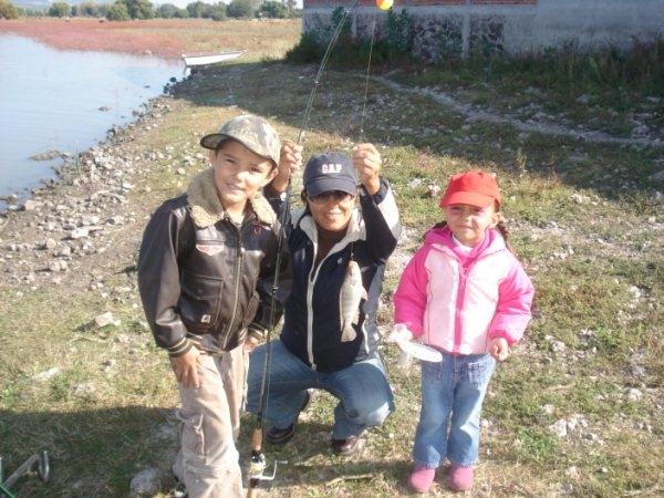 Pescando Mojarras