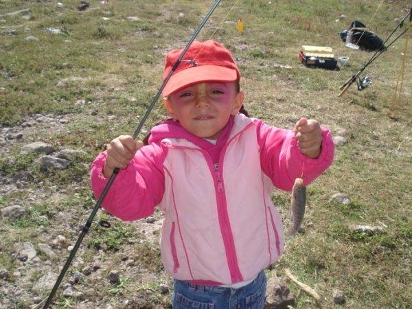 pescando mojarras tilapias