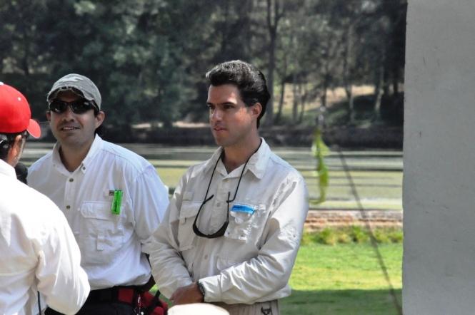 Cristian Arellanos y Eugenio Gonzalez Anglers